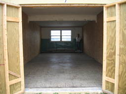 Concrete block 10x30 13x31 storage unit
