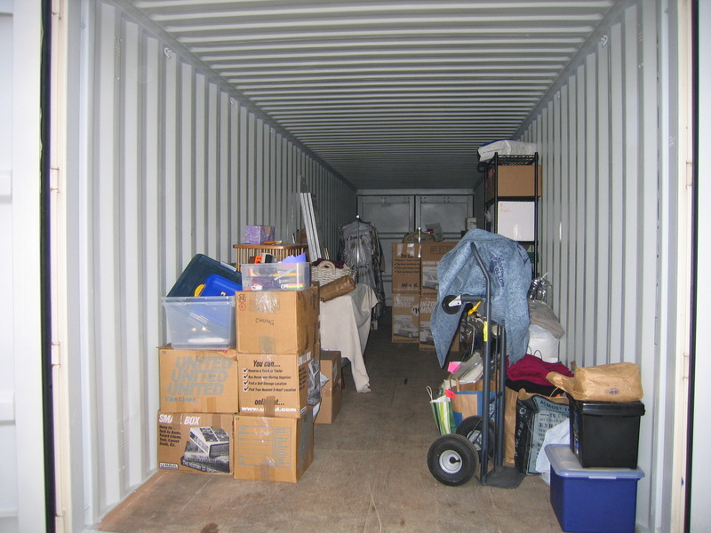 Inside Mouse Proof Steel Shipping Container Unit